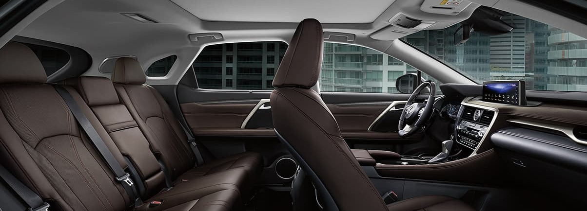 Spacious Cabin of the 2020 RX 350