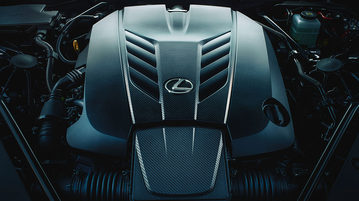 V8 Engine Within the 2020 Lexus LC 500