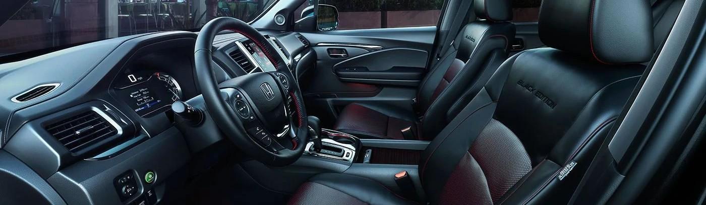 2019 Honda Ridgeline Front Seats