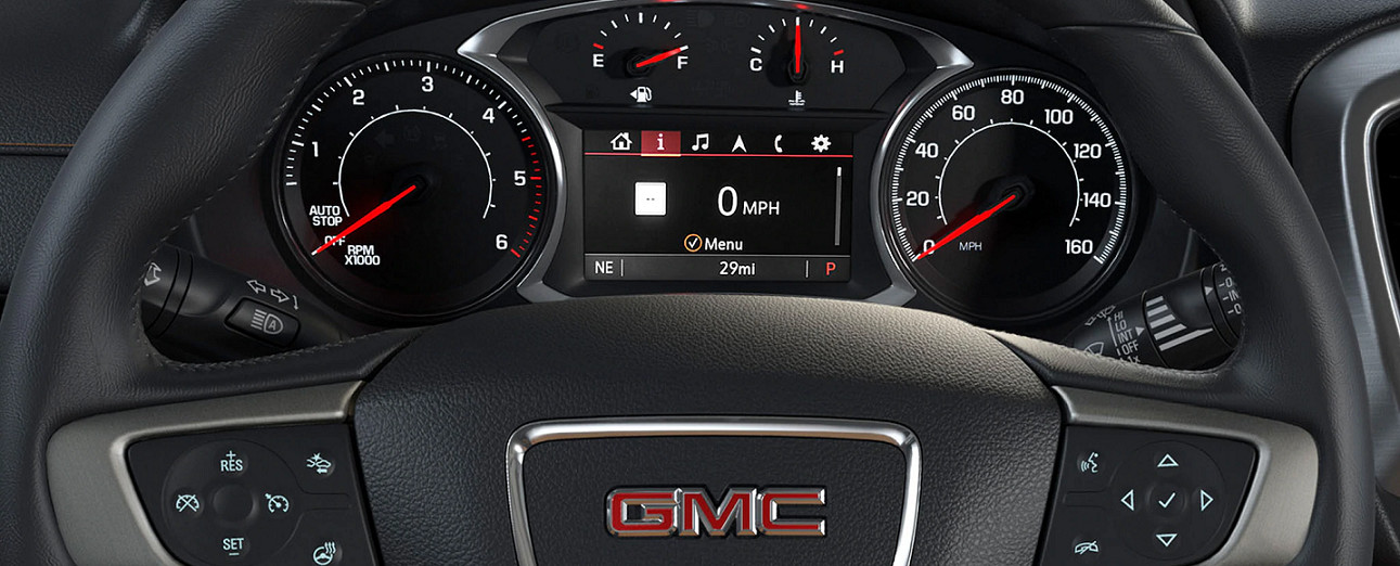 Steering Wheel of the 2020 Terrain