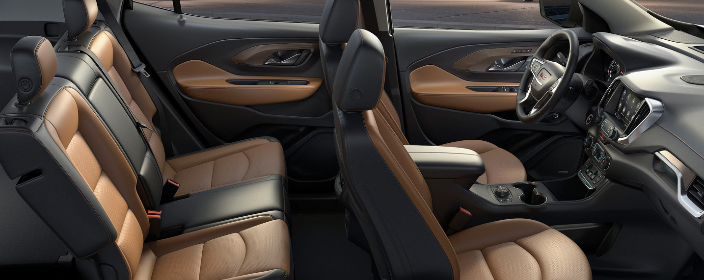 Roomy Cabin of the 2020 GMC Terrain