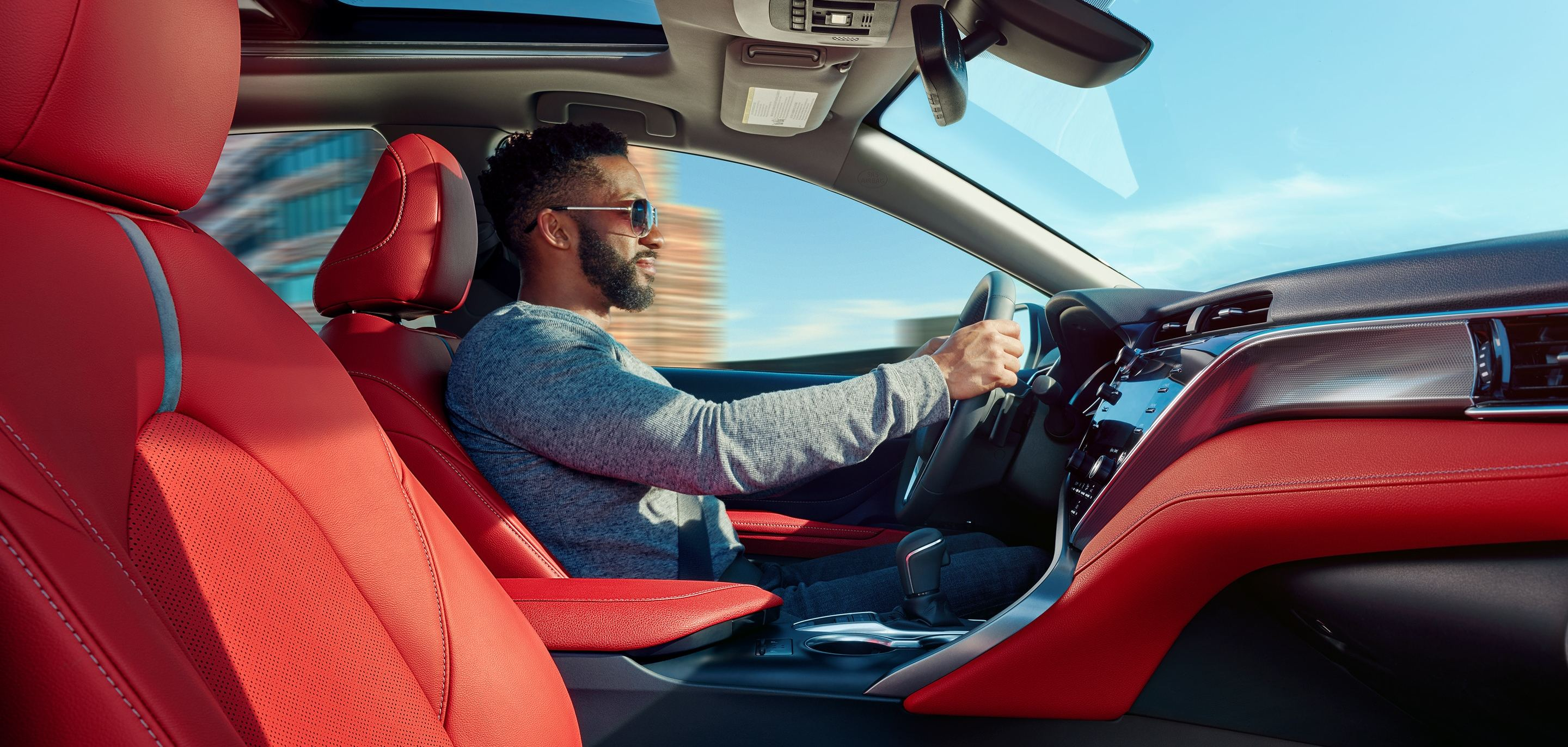 The 2019 Camry's Sporty Interior Design