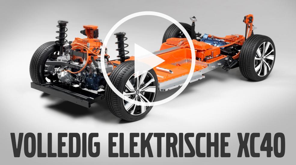 De eerste volledig elektrische Volvo