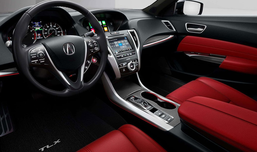 Upscale Amenities in the 2020 TLX