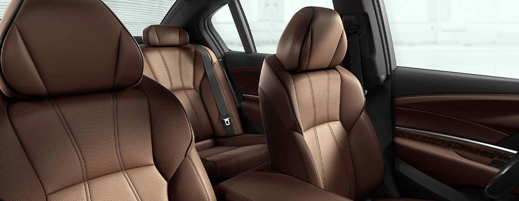 Refined Comfort in the 2020 Acura RLX