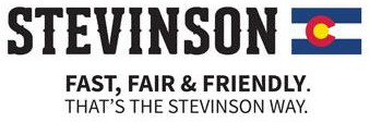 Stevinson Logo - Fast, Fair, and Friendly. That's the Stevinson Way.