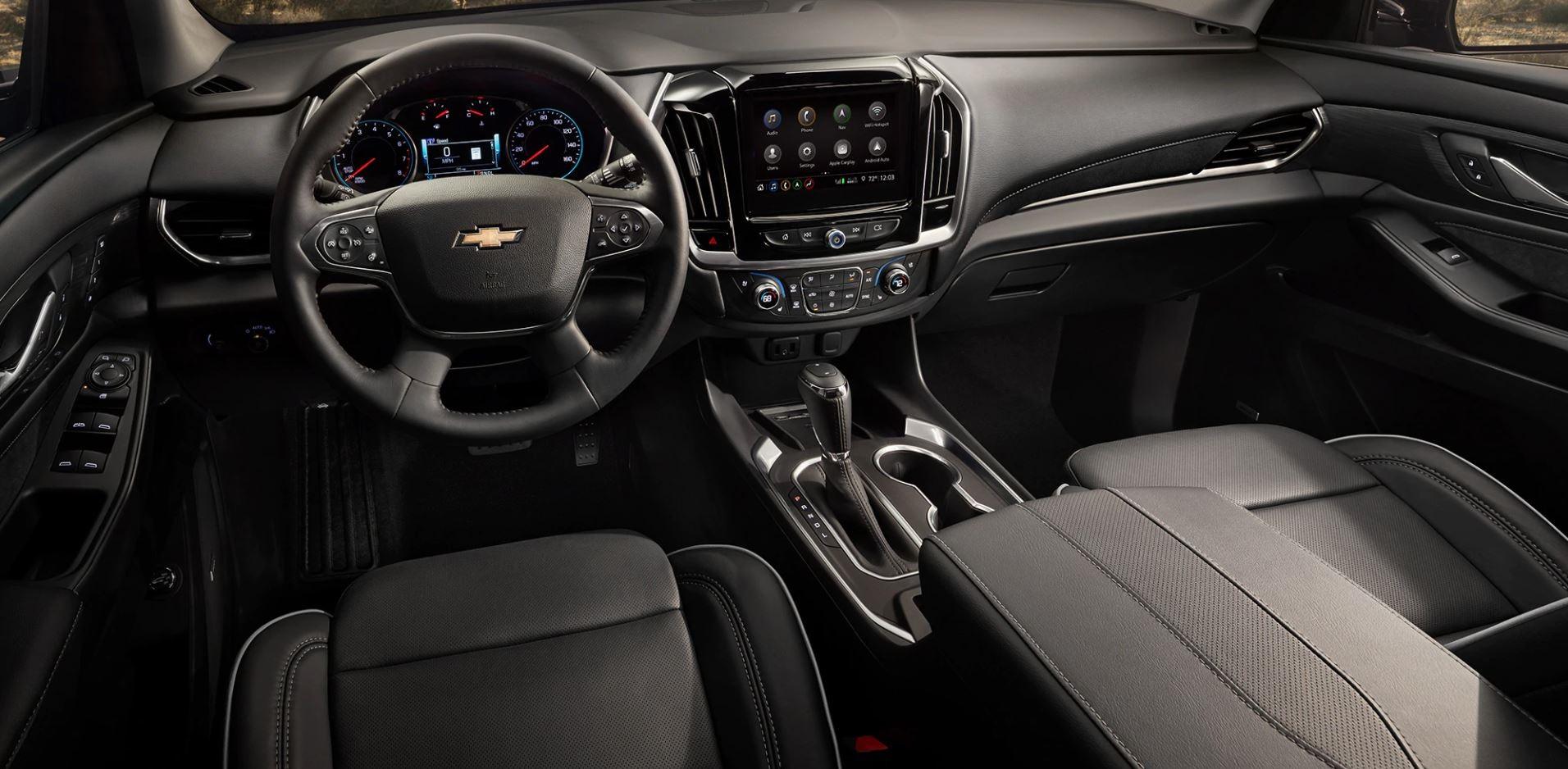 2020 Chevrolet Traverse Cockpit