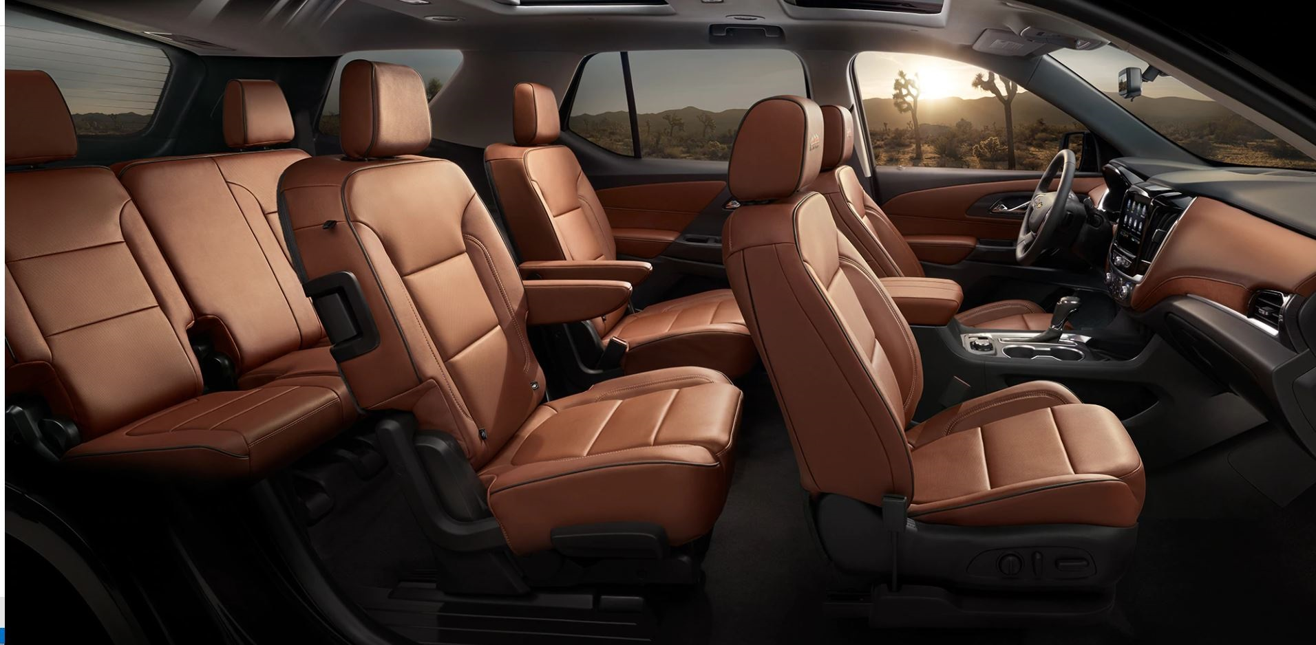 Commodious Cabin of the 2020 Chevrolet Traverse