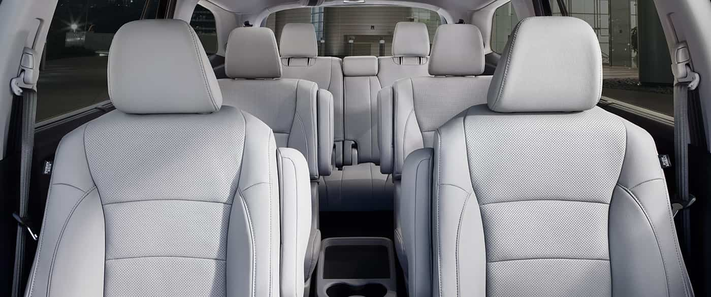 Spacious Seating in the 2020 Pilot