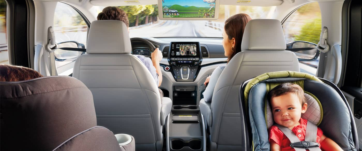 Stay Safe in the 2020 Honda Odyssey