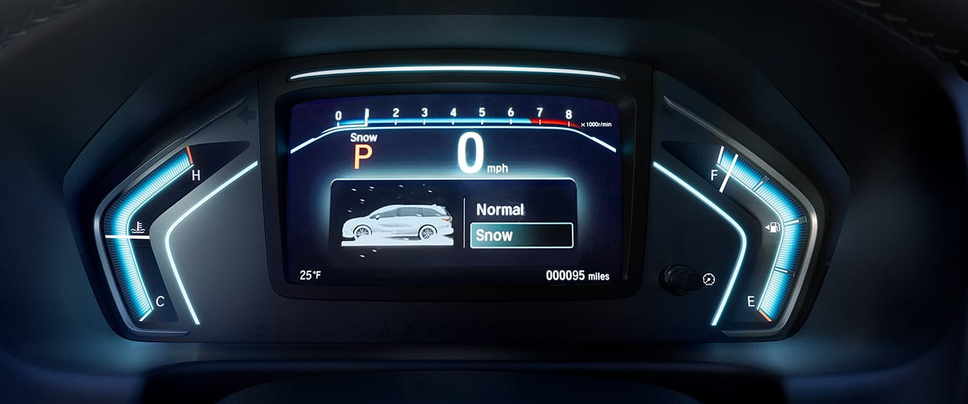 Instrument Cluster of the 2020 Odyssey