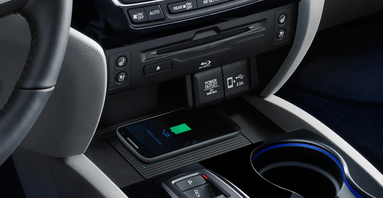 2020 Pilot Wireless Charging