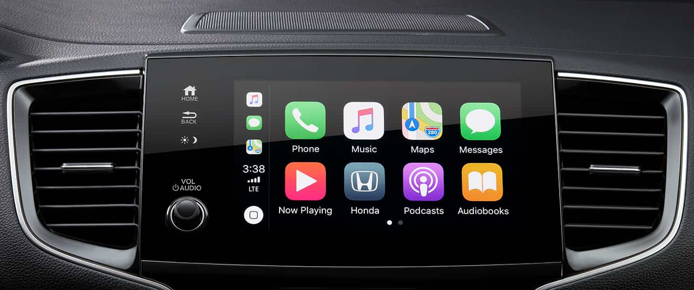 Available Apple CarPlay™ in the 2020 Honda Pilot