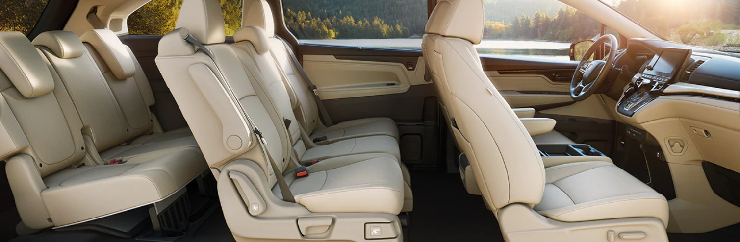 Secure Interior of the 2020 Odyssey