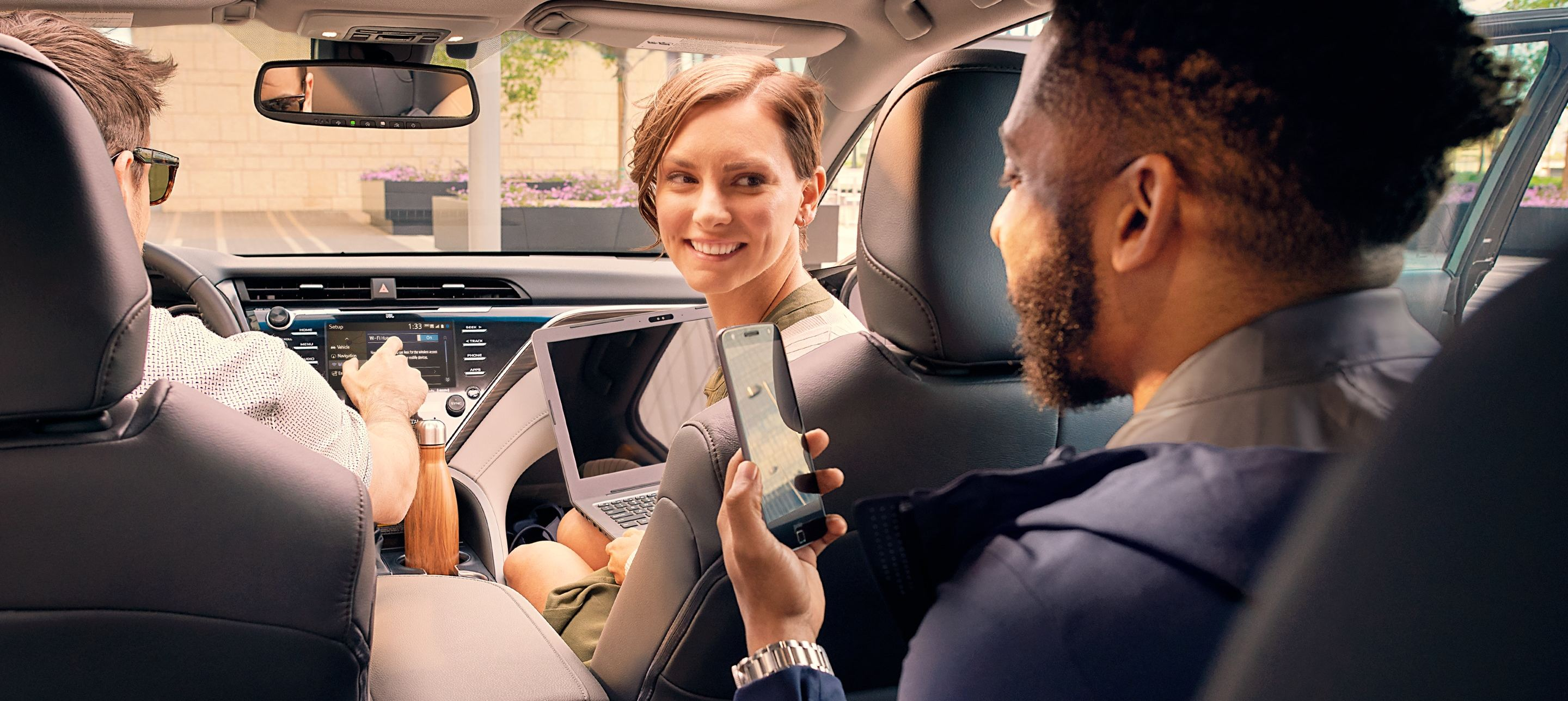 Stay Connected on the Go in the 2020 Camry