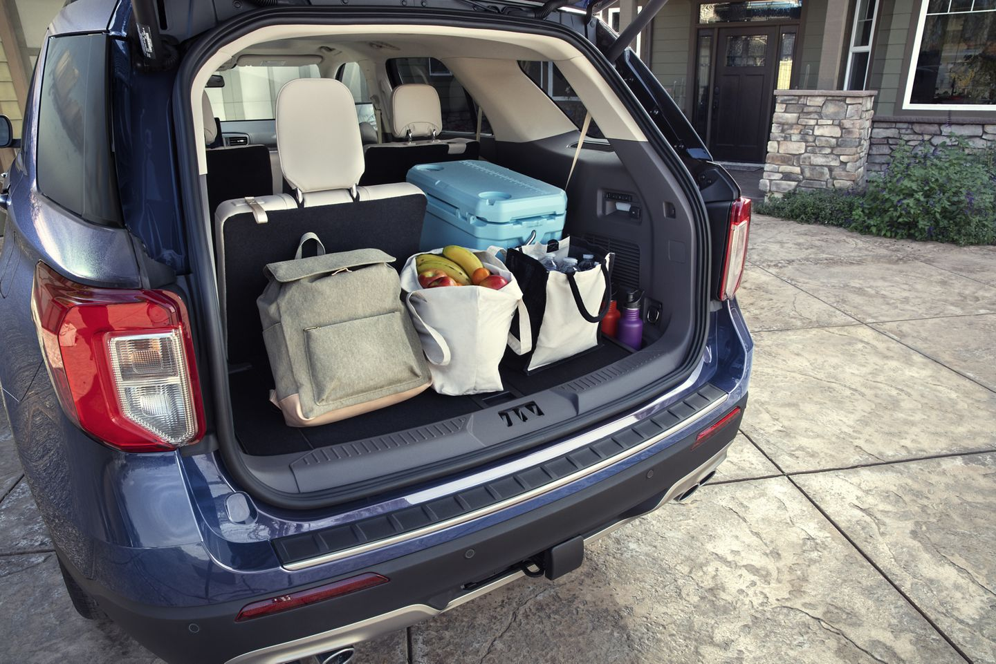 Cargo Space in the Explorer