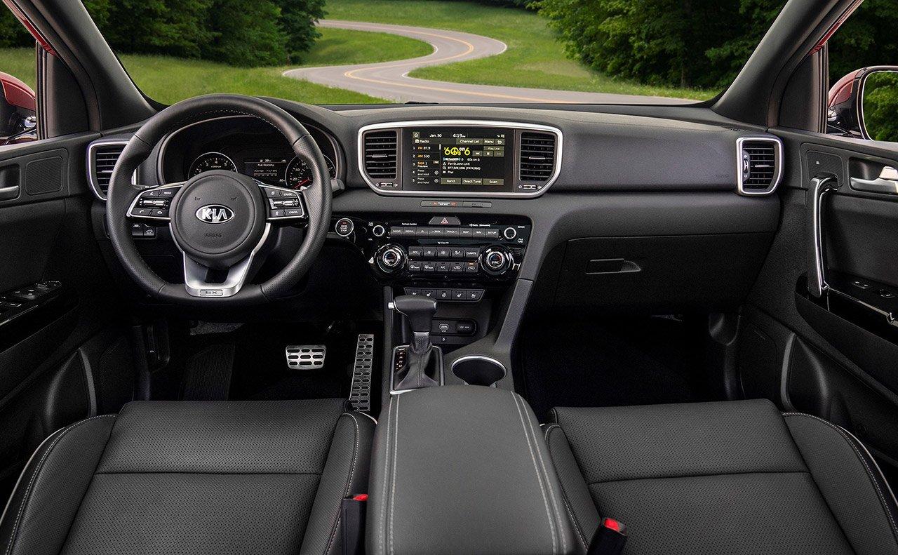 2020 Kia Sportage Dashboard