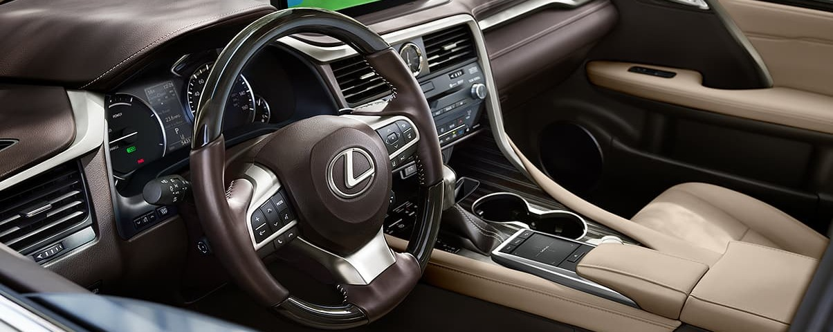Upscale Cabin of the 2019 RX 350
