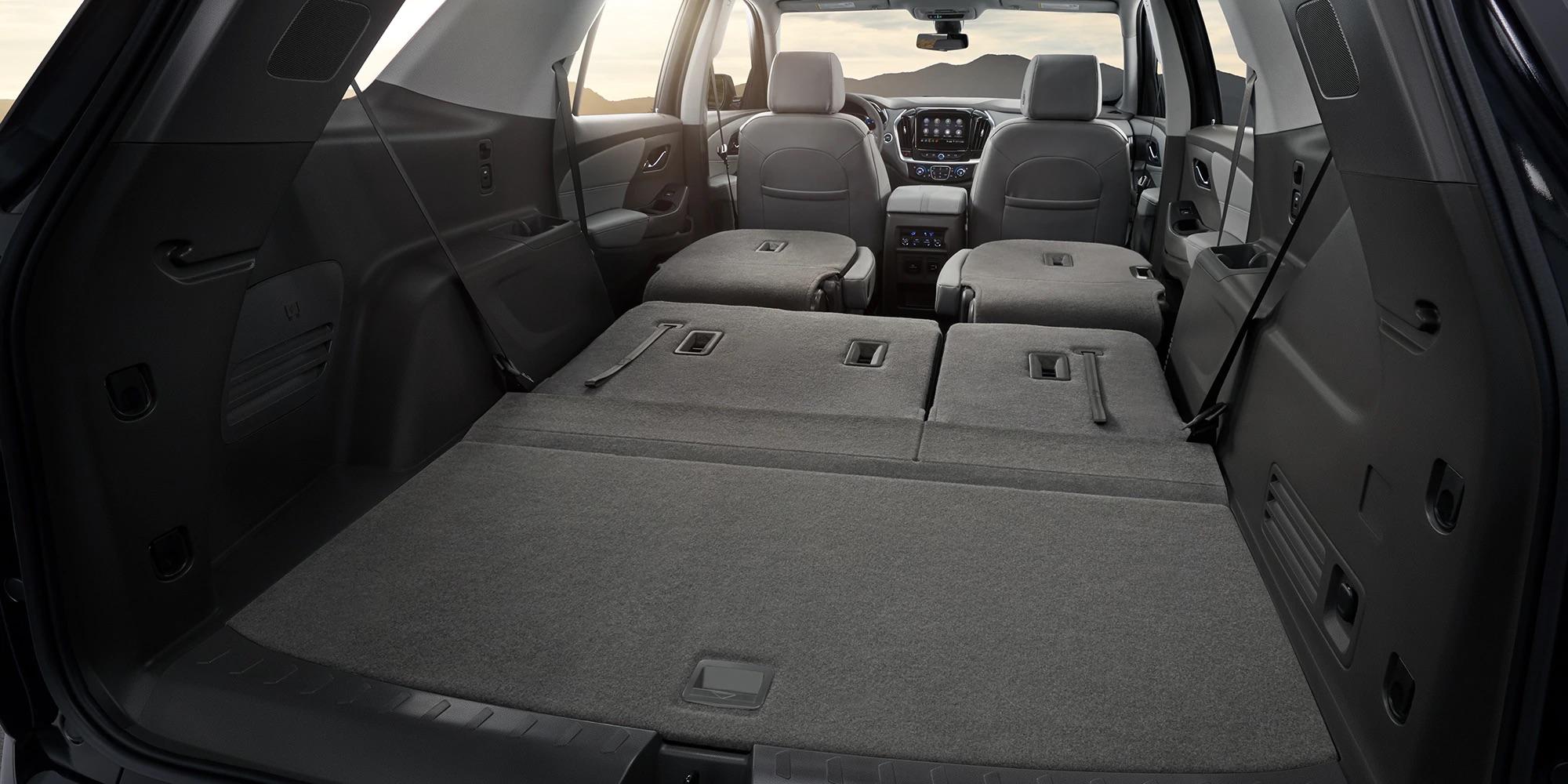 Con la Chevrolet Traverse 2020 tienes todo el espacio de carga que necesitas