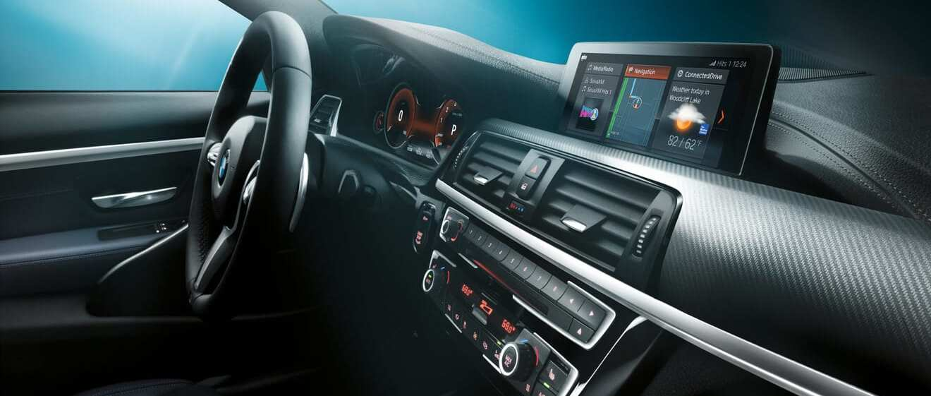 2020 BMW 4 Series Dashboard