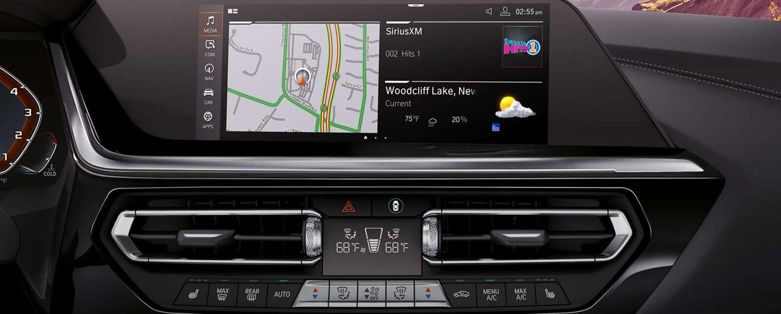 The 2020 Z4's Tech-Loaded Dashboard