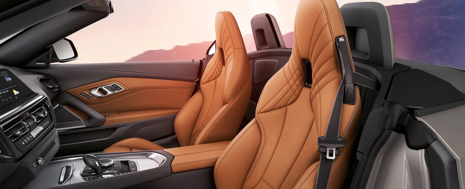 Luxurious Seating in the 2020 Z4