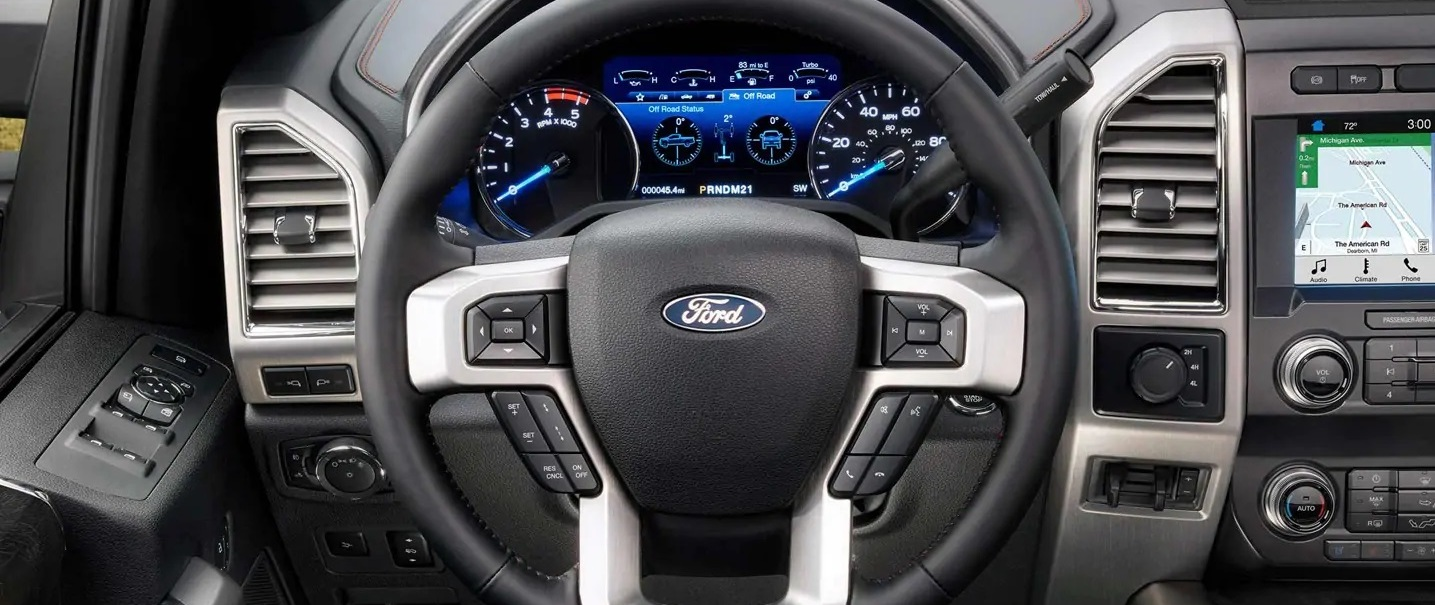 2019 Ford F-350 Steering Wheel