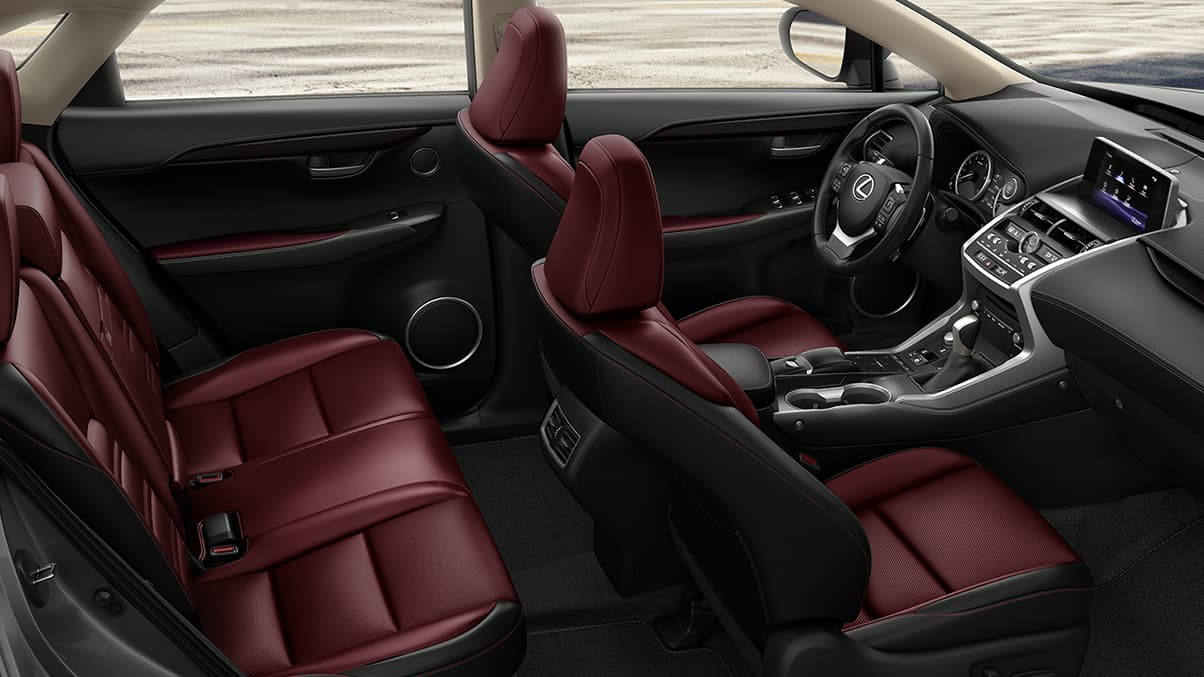 The Secure Cabin of the 2020 Lexus NX 300