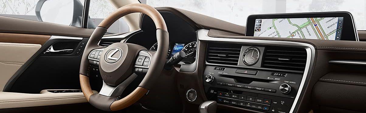 2019 Lexus RX 350 Dashboard