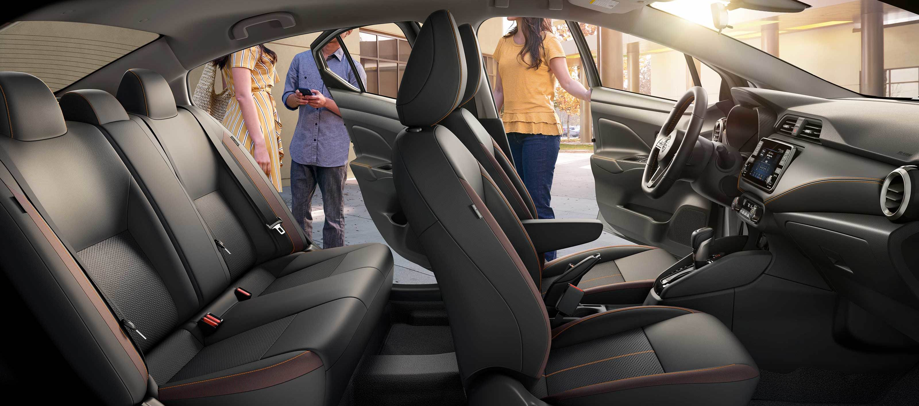The Airy Cabin of the 2020 Versa