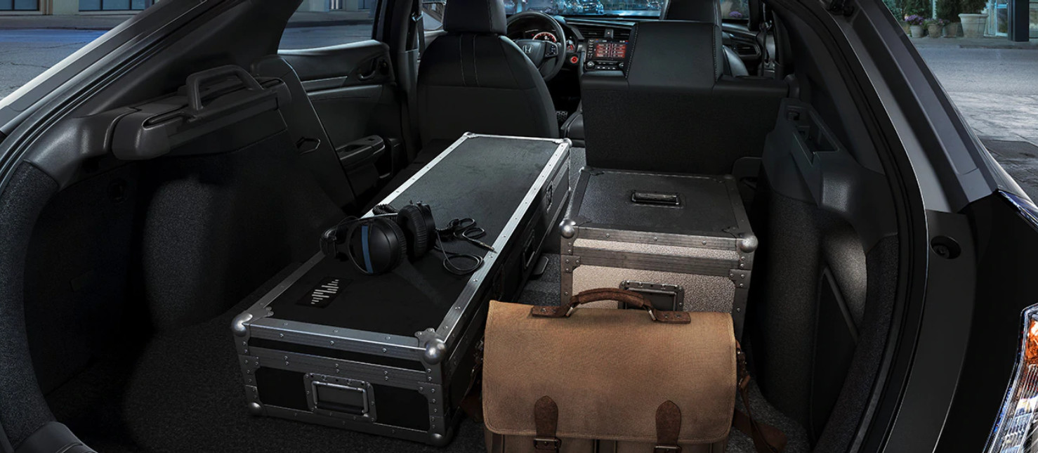 Accommodating Storage in the 2020 Honda Civic