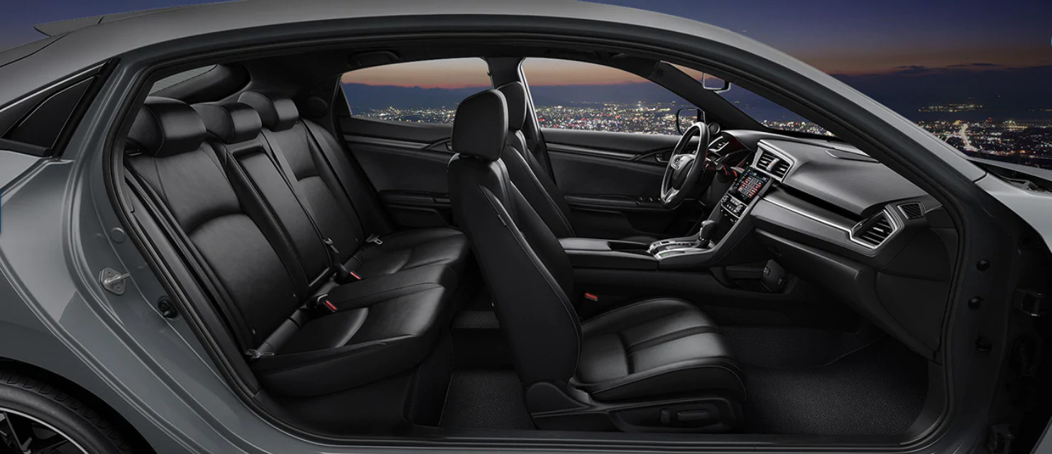 Secure Cabin of the 2020 Civic