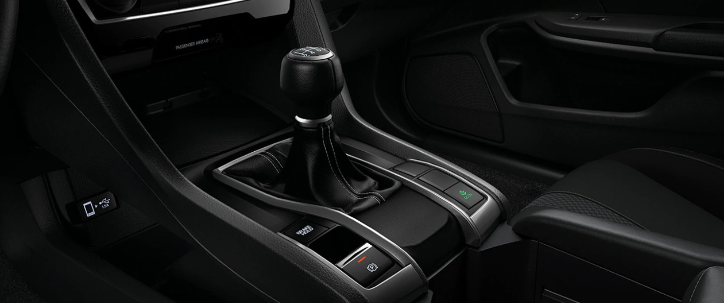 6-Speed Manual Transmission in the 2020 Civic
