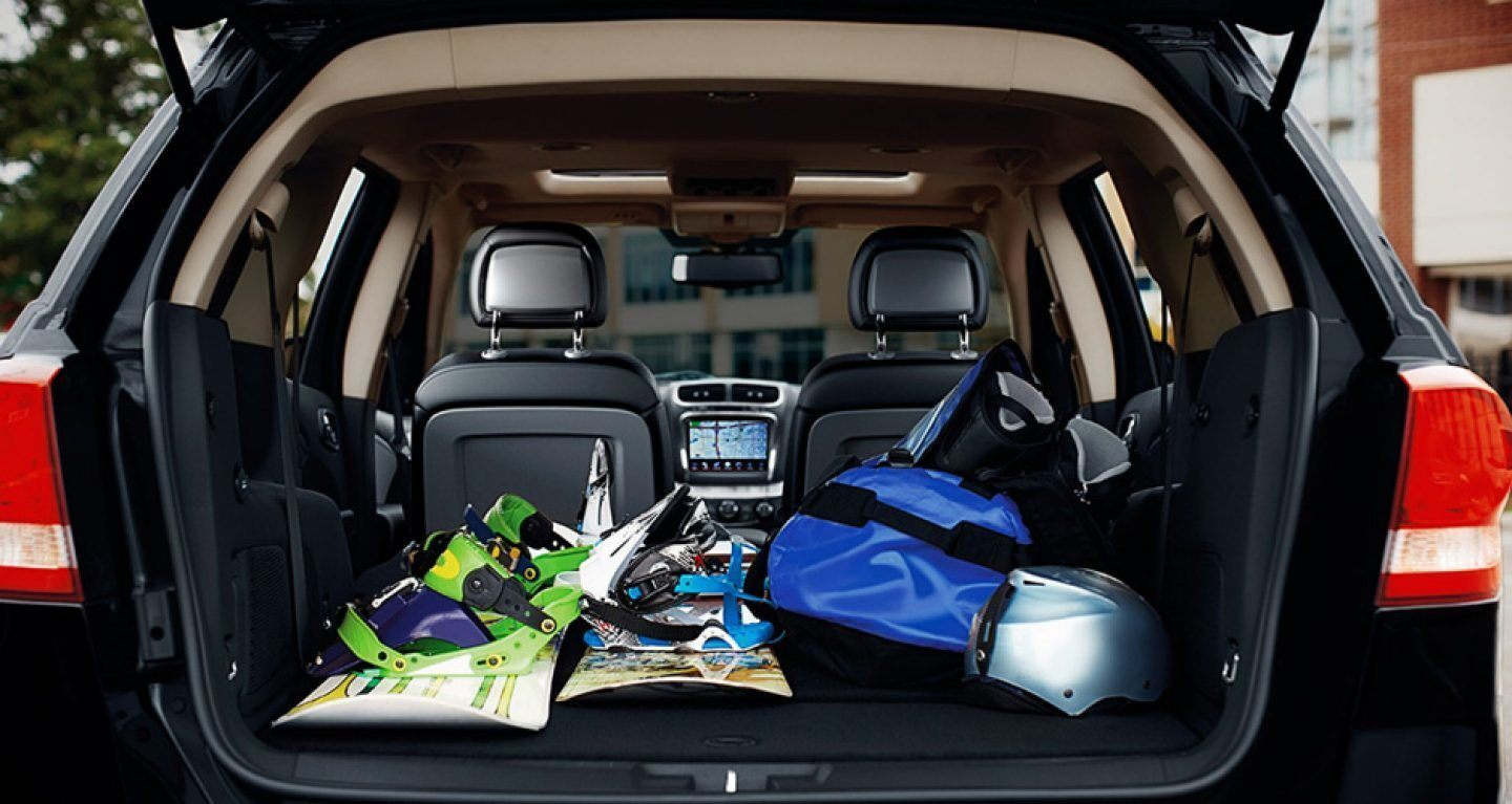 2019 Dodge Journey Storage Space