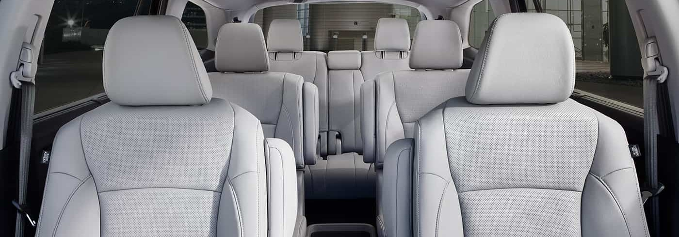 Roomy Interior of the 2020 Honda Pilot