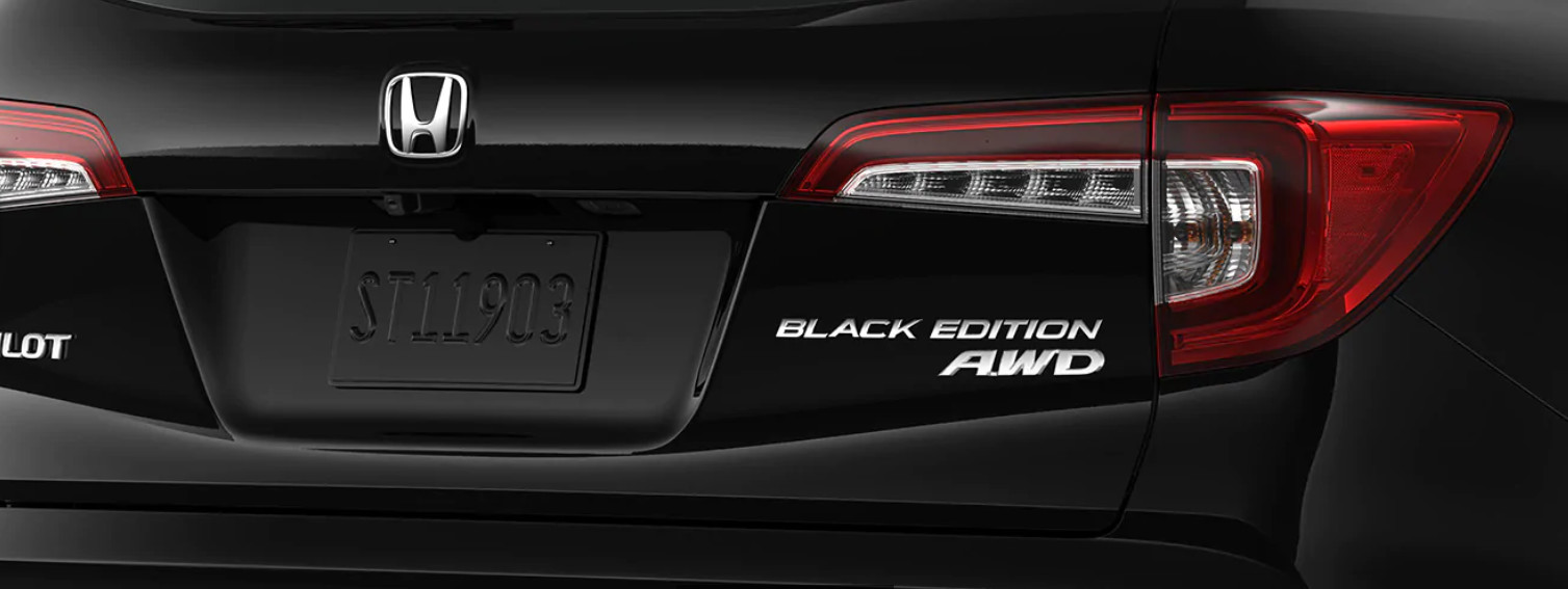 Test Drive the 2020 Pilot Black Edition!