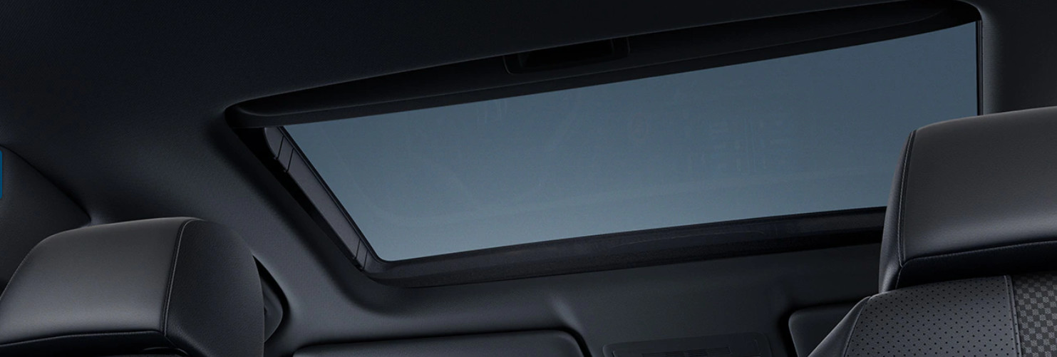 Moonroof in the 2020 Honda Civic