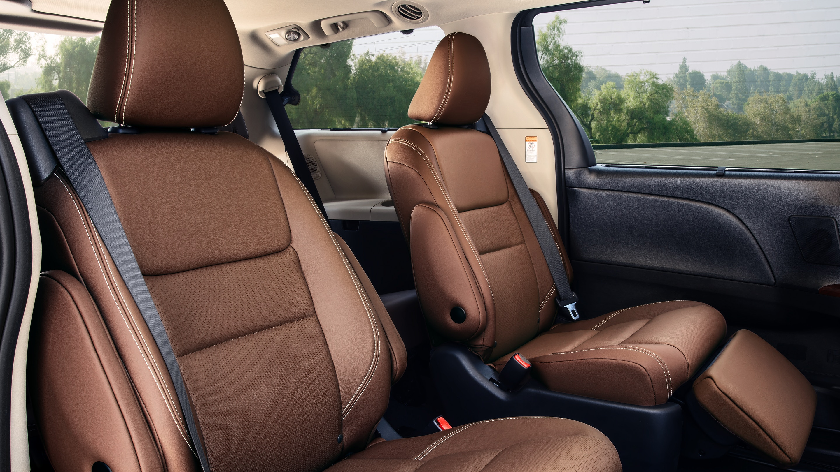 Upscale Seats in the 2020 Toyota Sienna