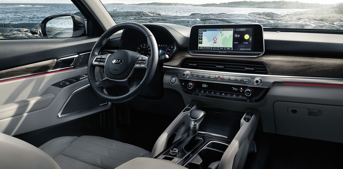 2020 Kia Telluride Front Seats with Technology