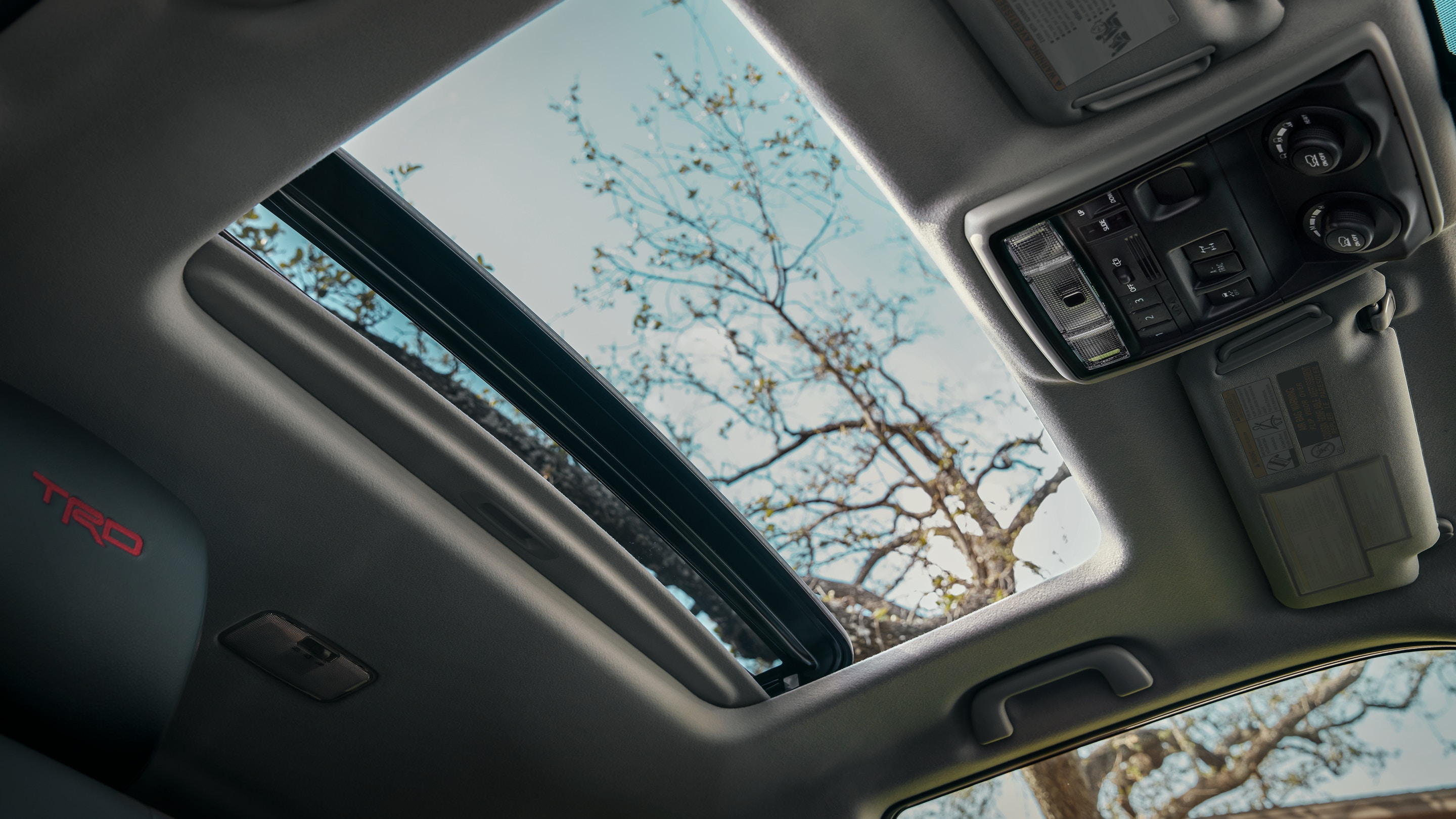 Sunroof in the 2020 4Runner
