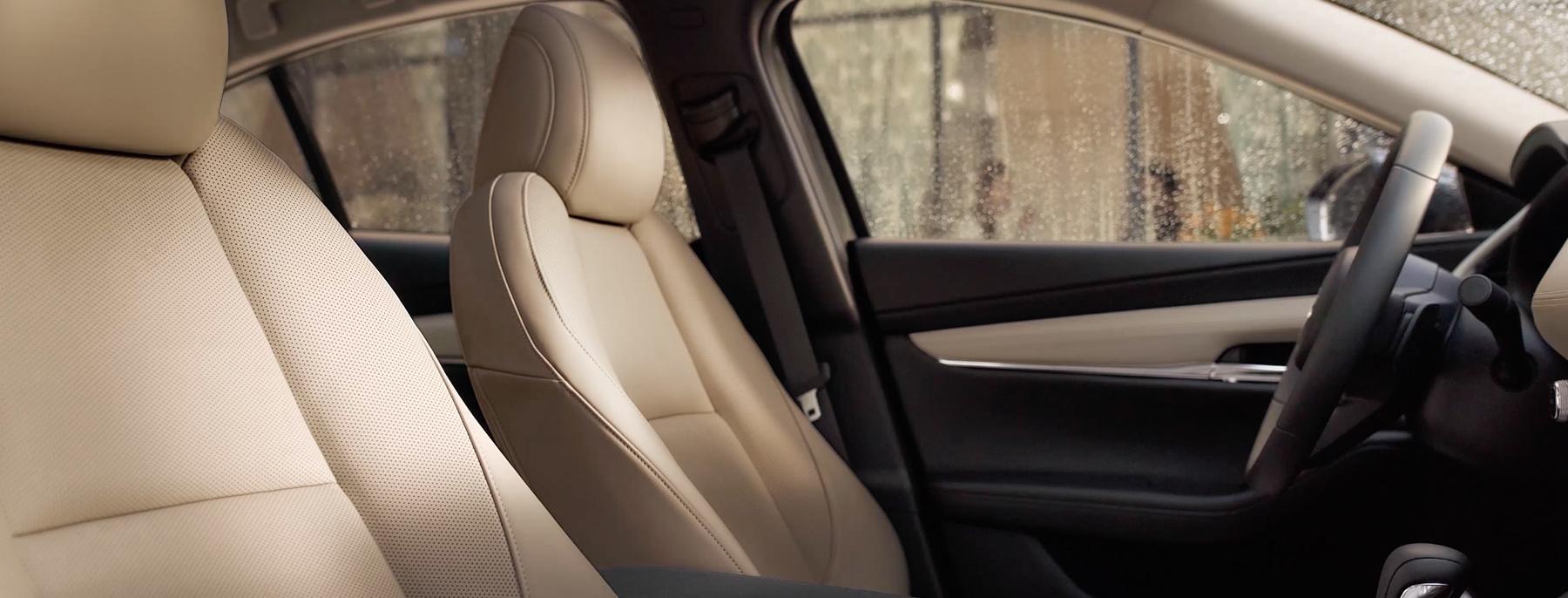 Luscious Interior of the 2019 Mazda3 Sedan