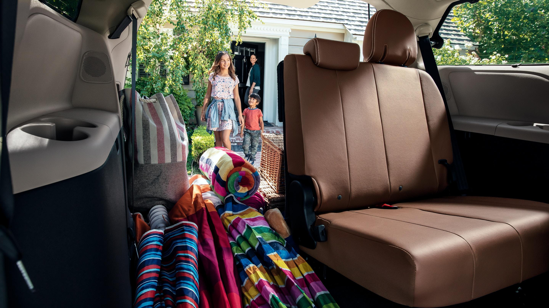 2020 Toyota Sienna Cargo Area