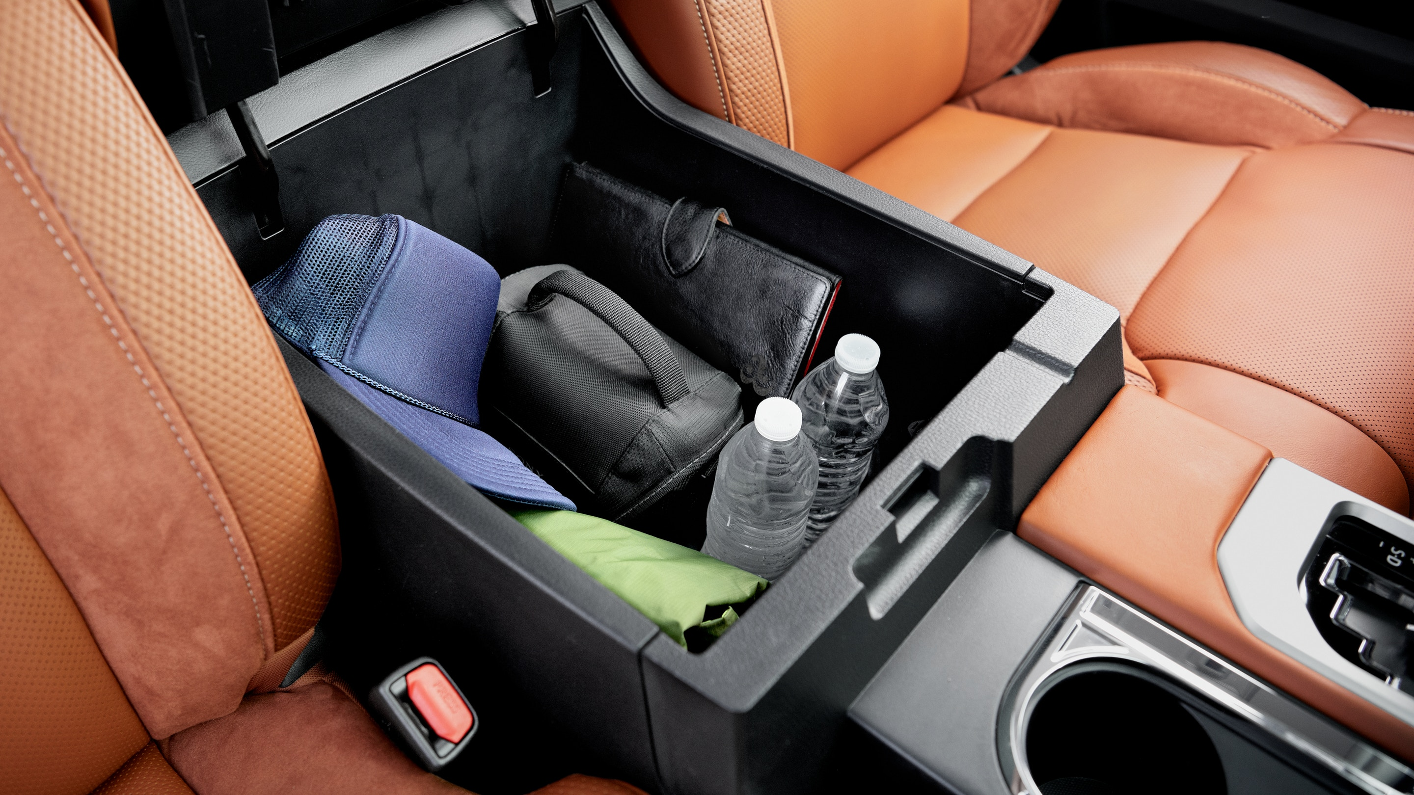 Center Console of the 2020 Tundra