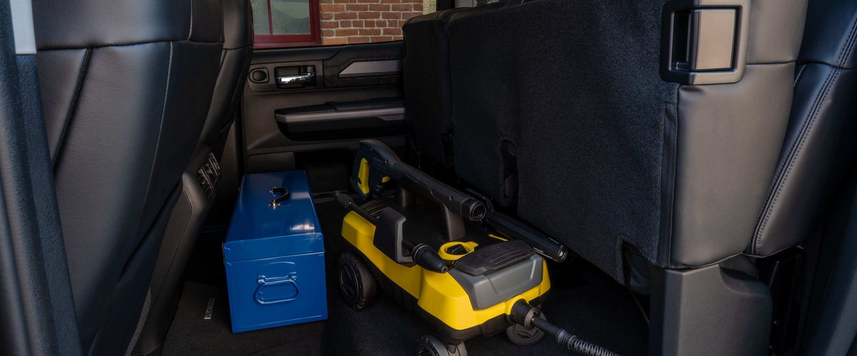 Storage Space in the 2020 Tundra