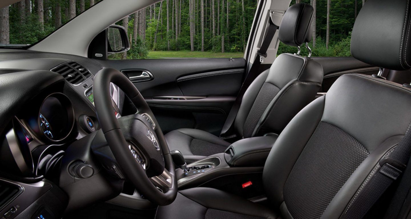 2019 Dodge Journey Front Seats