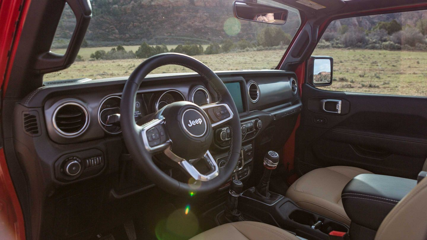 2019 Jeep Wrangler Unlimited Center Console