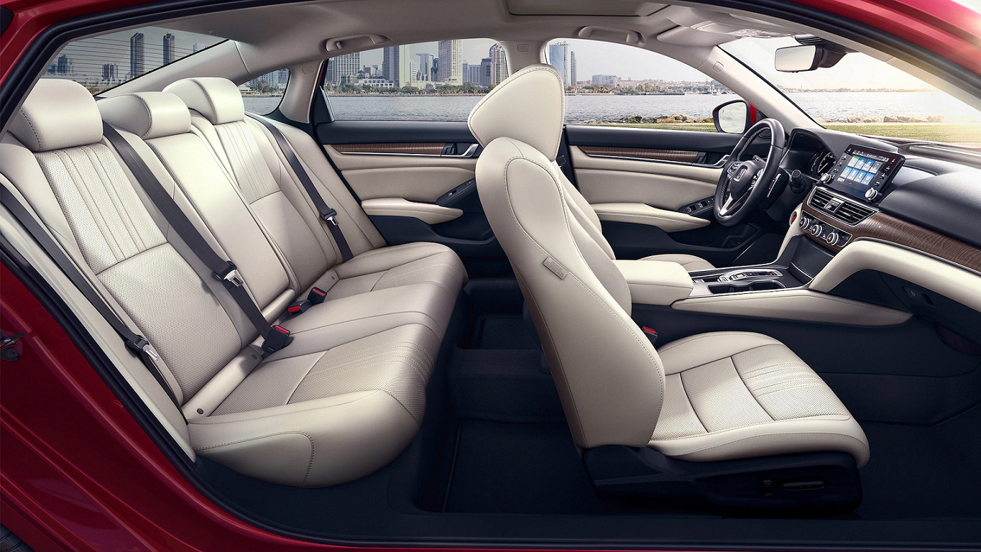 Spacious Cabin of the 2020 Honda Accord