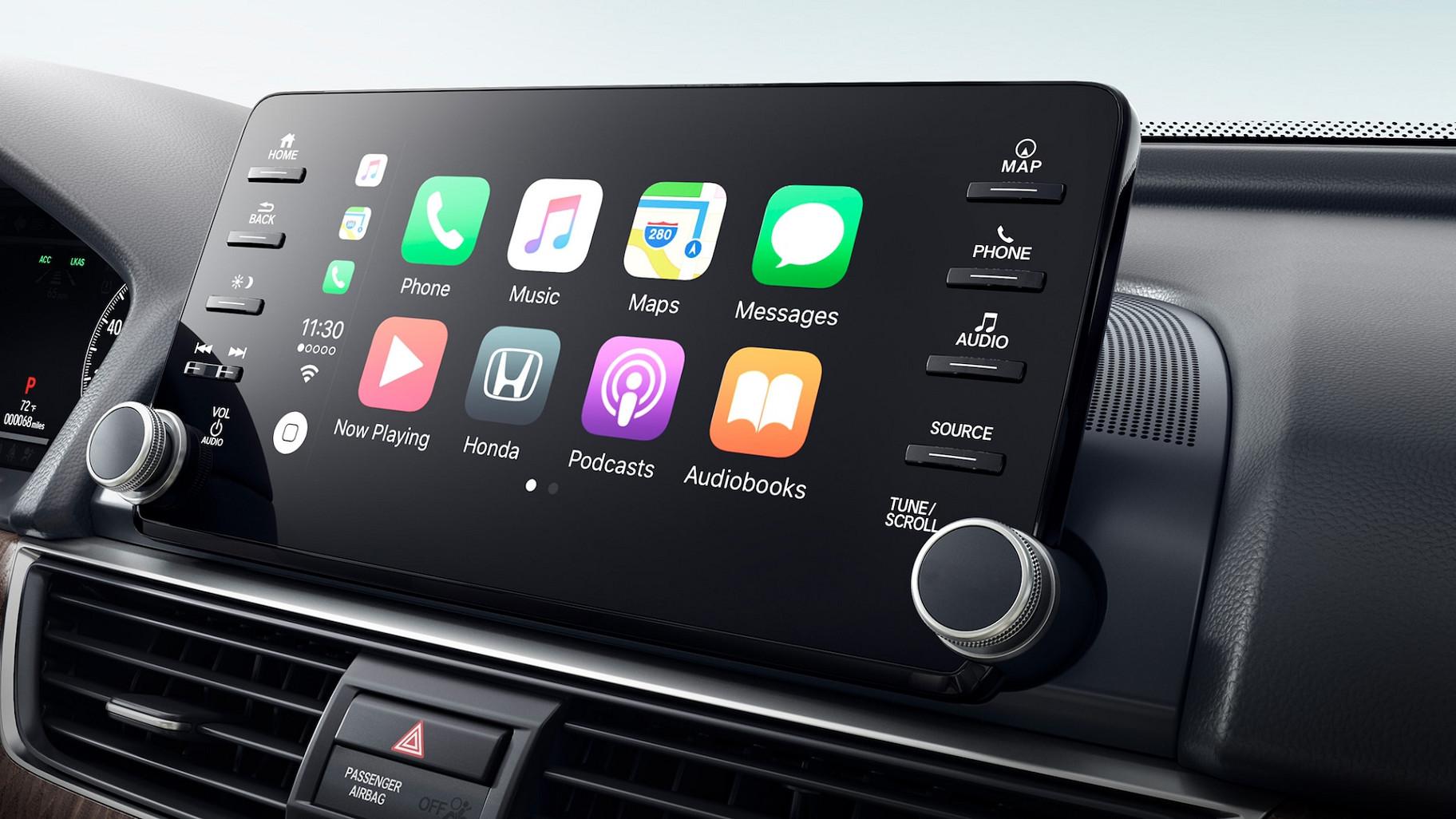 Apple CarPlay™ in the 2020 Accord