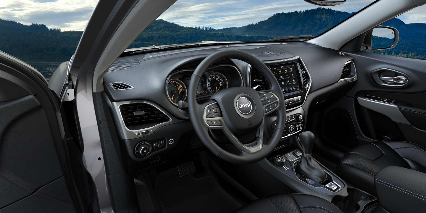 2019 Jeep Cherokee Front Seats