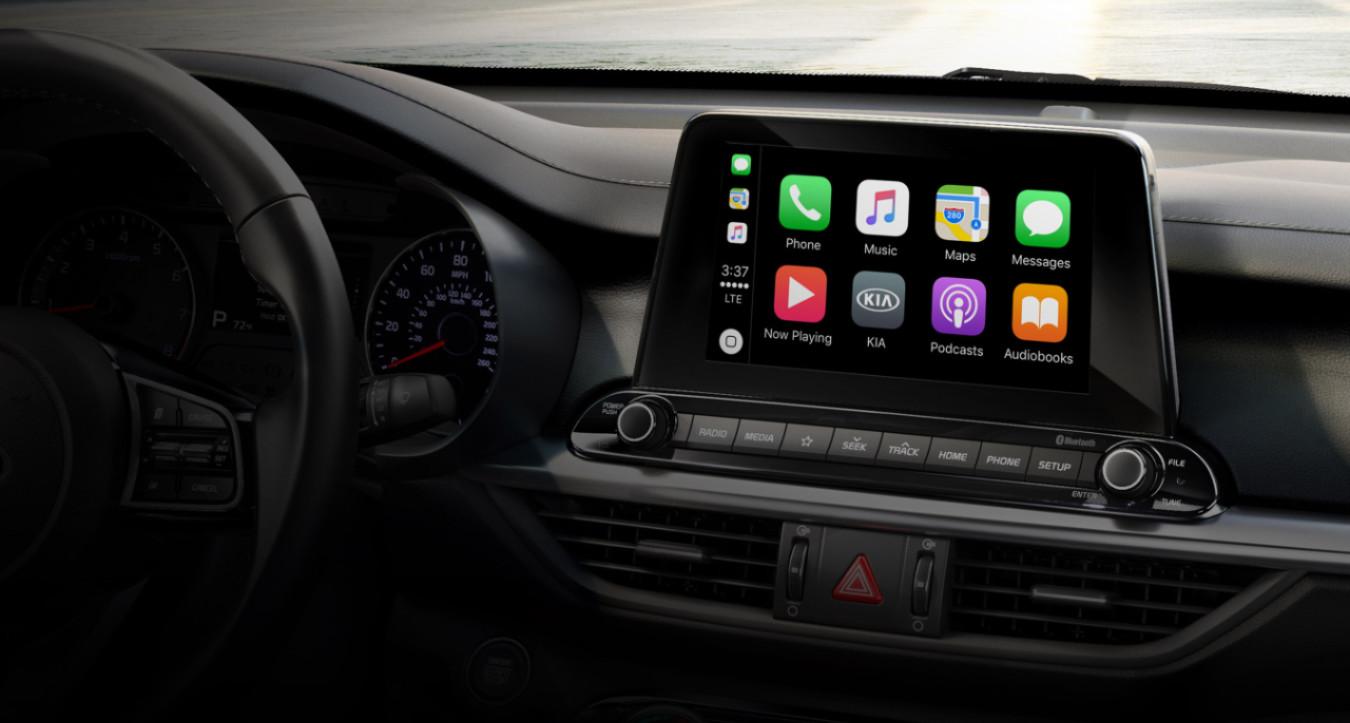Plenty of Tech in the 2020 Kia Forte